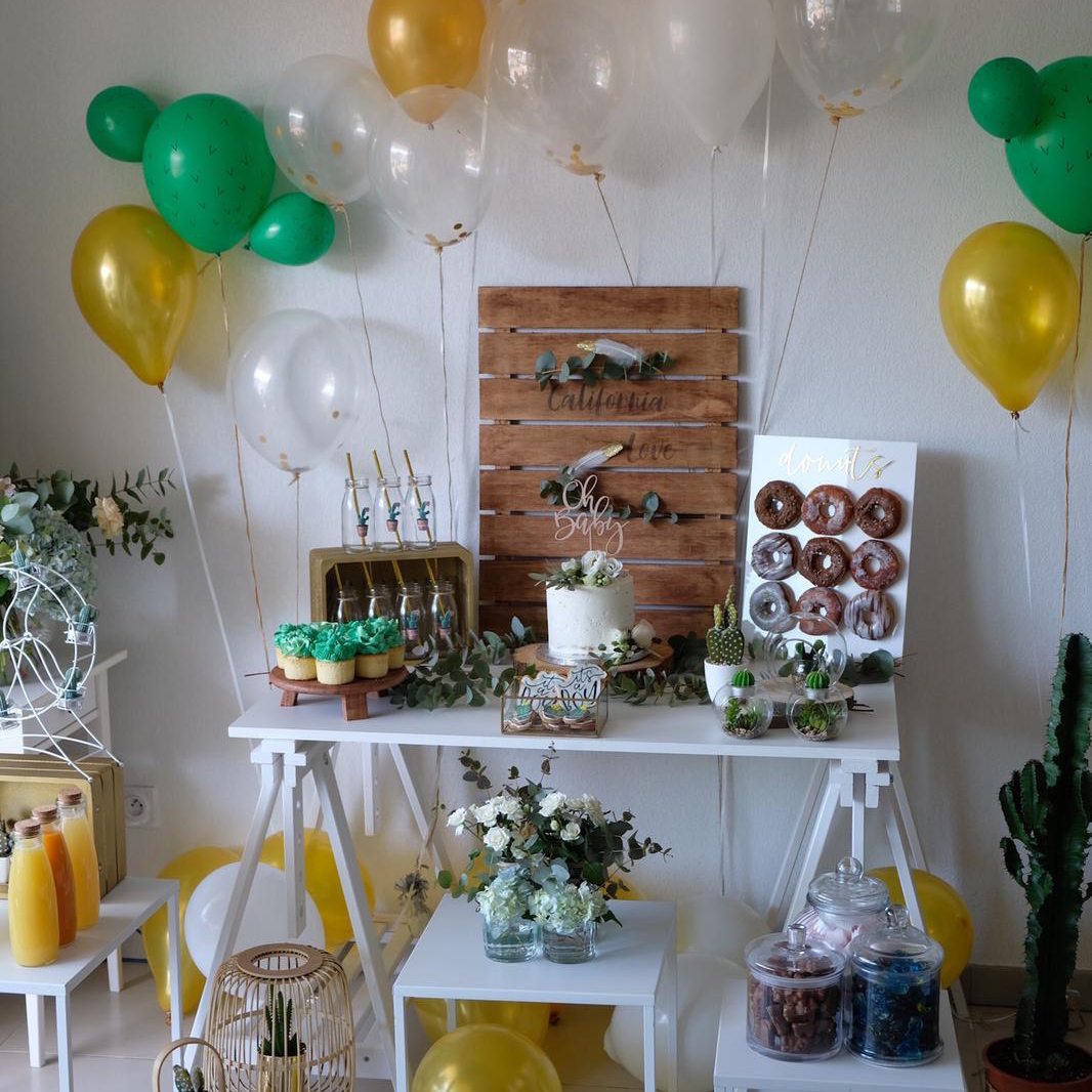 Californian baby shower